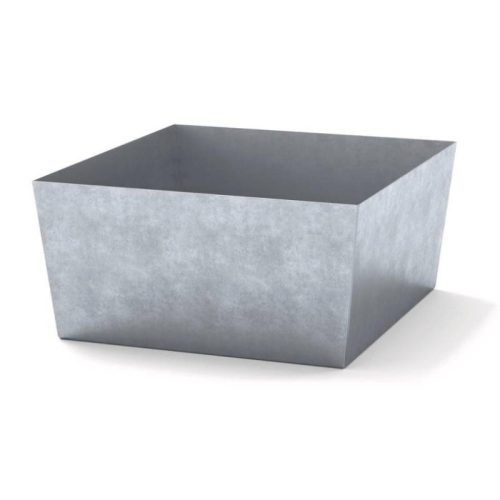 vasca senza grigliato zincata