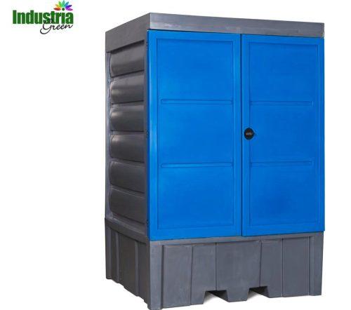 armadio deposito per esterno fusti e cisternette