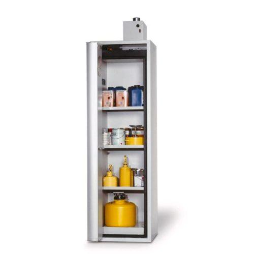 armadio per sostanze infiammabili porta a soffietto
