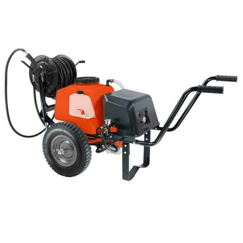 Stocker - Pompa a carriola a batteria 40 lt