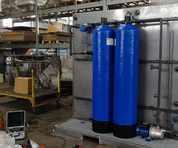 costruzione depuratori acqua