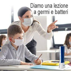 ozono sanificazione scuola
