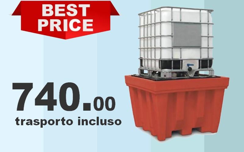 vasca per cisternette IBC